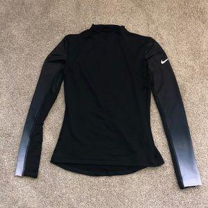 Nike Pro Hyper Warm Long Sleeve Ombré Top